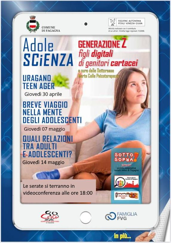 Videoconferenze per le famiglie - AdoleSC(i)ENZA
