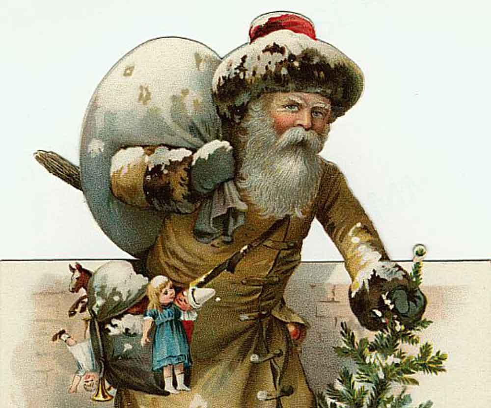Novena 2020 - Il Babbo Natale marrone